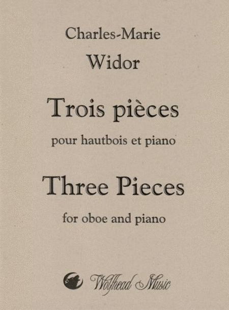 Trois pieces pour hautbois et piano