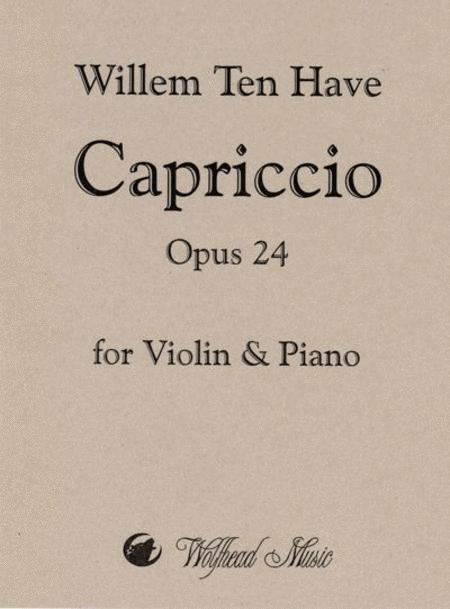 Capriccio, op. 24
