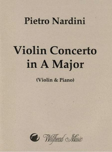 Violin Concerto in A Major