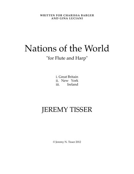 Nations of the World - SCORE ONLY