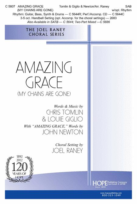 Amazing Grace (My Chains Are Gone) Sheet Music By Chris Tomlin ...