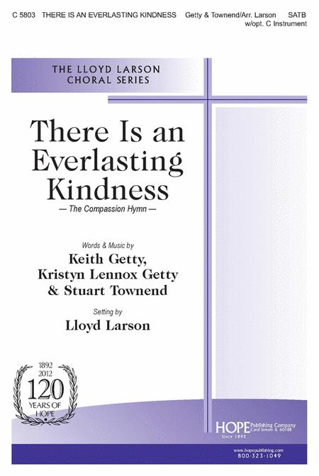 There Is an Everlasting Kindness (The Compassion Hymn)