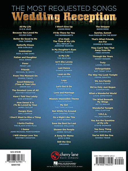 Preview The Most Requested Wedding Reception Songs By Various Hl