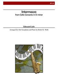 Intermezzo for Alto Saxophone and Piano