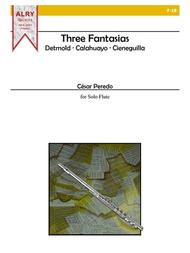 Three Fantasias for Solo Flute