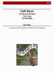 Cafe Music (Saxophone)