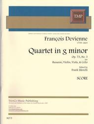 Quartet in F Op. 73 #3
