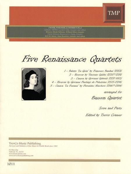 5 Renaissane Quartets