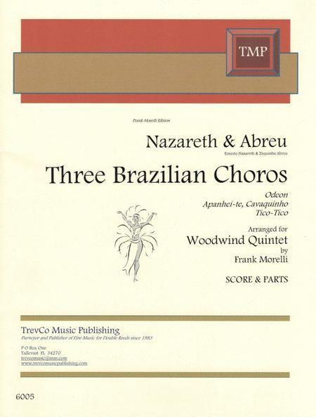 3 Brazilian Choros