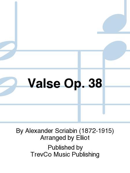 Valse Op. 38