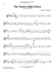 Intermediate Music for Four, Christmas - Part 2 for Bb Clarinet