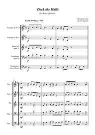 Deck the Halls - Jazz Carol for Brass Quartet
