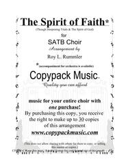 The Spirit of Faith