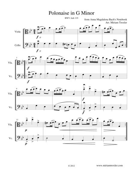 Polonaise in G Minor