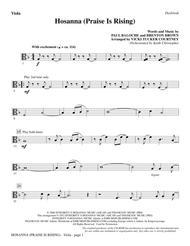 Hosanna (Praise Is Rising) - Viola