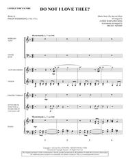 Do Not I Love Thee? - Score