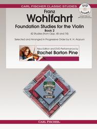 Foundation Studies for the Violin, Book 2
