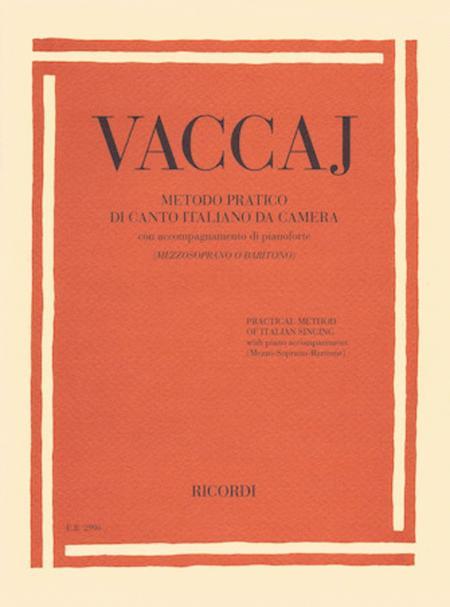 Metodo pratico di canto italiano da camera