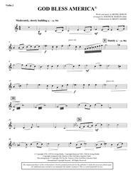 God Bless America - Violin 2