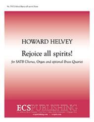 Rejoice all spirits! (Choral Score)