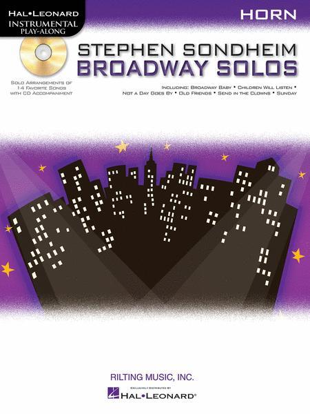 Stephen Sondheim - Broadway Solos