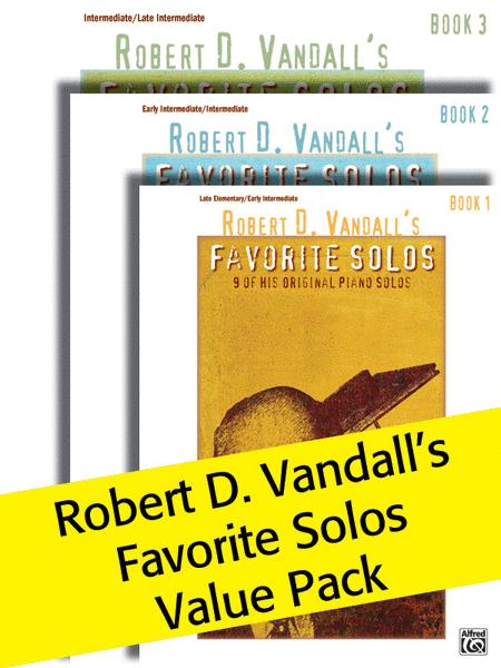 Robert D. Vandall's Favorite Solos, Books 1-3 (Value Pack)