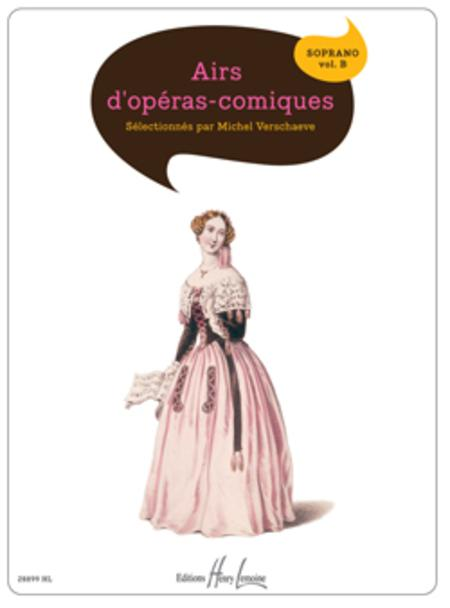 Airs d'operas comiques - Volume B