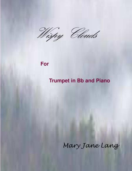 Wispy Clouds for Trumpet and Piano
