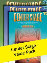 Center Stage, Book 1-3 (Value Pack)