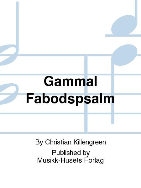 Gammal Fabodspsalm