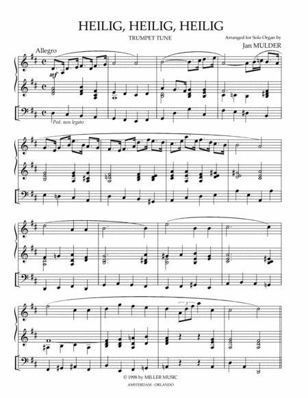Heilig, Heilig, Heilig - orgel solo