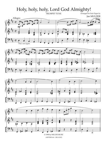 Holy Holy Holy - Solo Organ