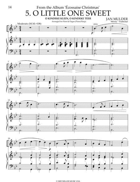 O Little One Sweet - Flute & Piano