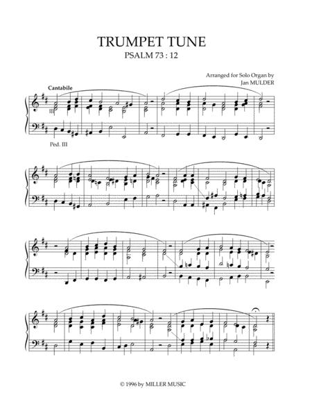 Psalm 73 - Orgel Solo
