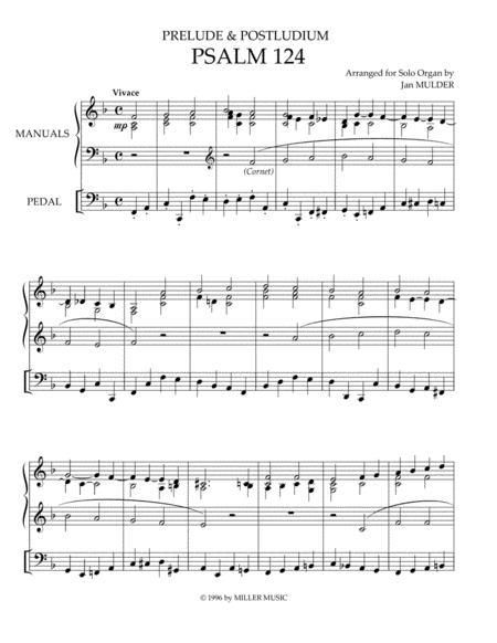 Psalm 124 - Orgel Solo