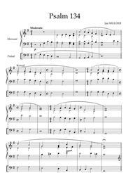 Psalm 134 - Orgel Solo