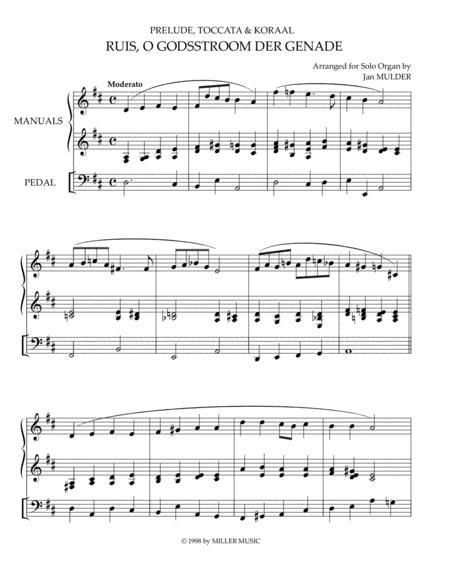 Ruis O Godsstroom Der Genade - Orgel Solo