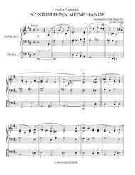 So Nimm Den Meine Hande - Orgel Solo