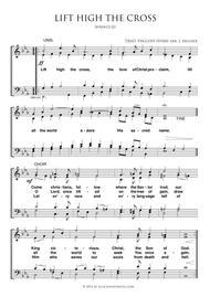 Lift High The Cross - Choir
