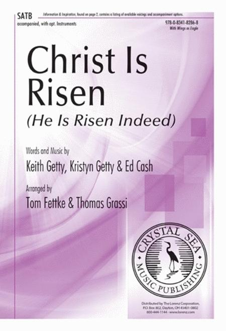 Christ Is Risen (He Is Risen Indeed)