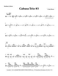 Cabasa Trio No. 3