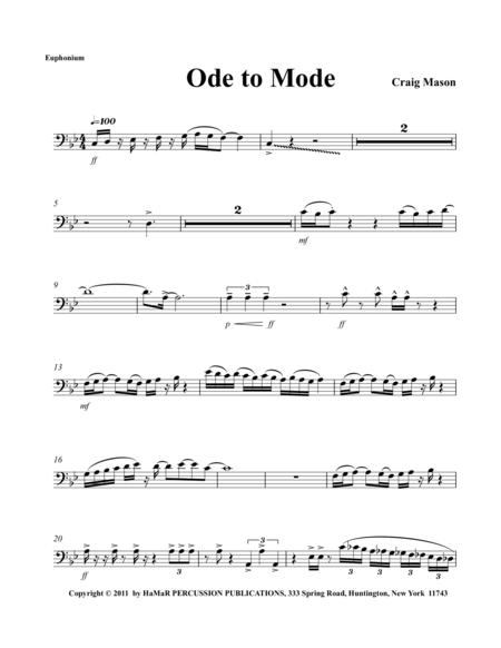 Ode to Mode