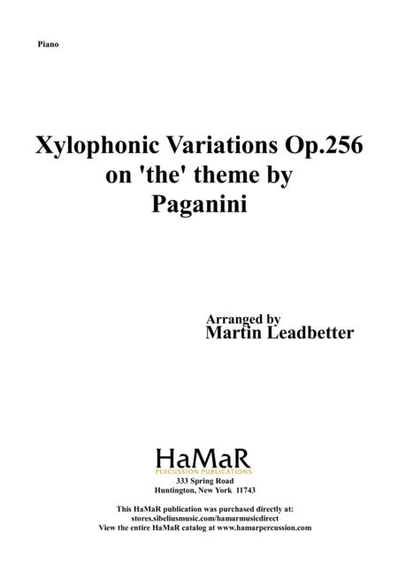 Xylophonic Variations