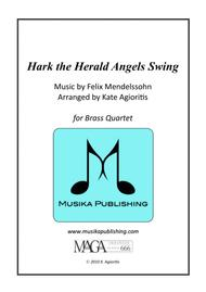 Hark the Herald Angels Swing - Jazz Carol for Brass Quartet