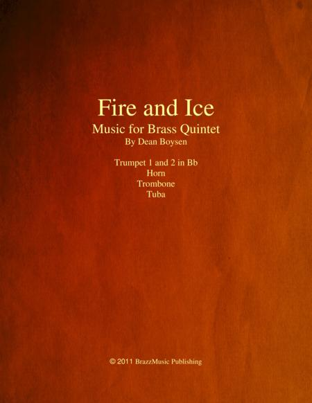 Fire and Ice (for brass quintet)