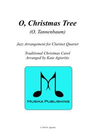 O Christmas Tree (O Tannenbaum) - Jazz Carol for Clarinet Quartet