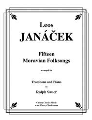 15 Moravian Folk Songs for Trombone and Piano