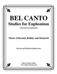 Bel Canto Studies for Euphonium with Piano
