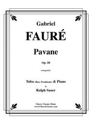 Pavane, Op. 50 for Tuba or Bass Trombone and Piano