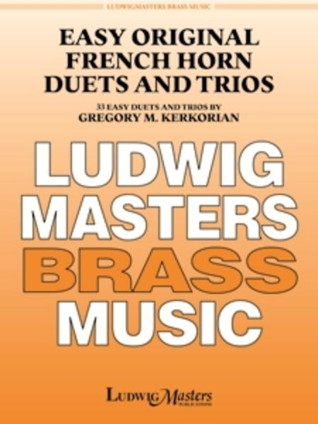 Easy Original French Horn Duets and Trios